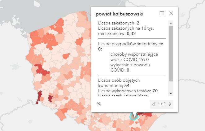 Kolejne zakażenia koronawirusem w powiecie kolbuszowskim [czwartek - 16 września] - Zdjęcie główne
