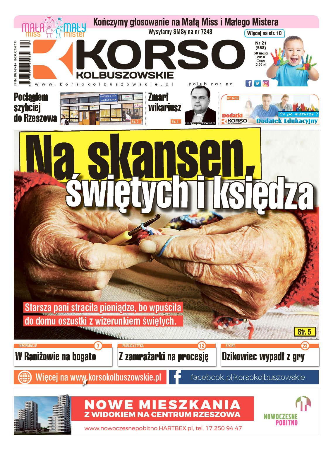 Nowy numer Korso Kolbuszowskie - nr 21/2018 - Zdjęcie główne
