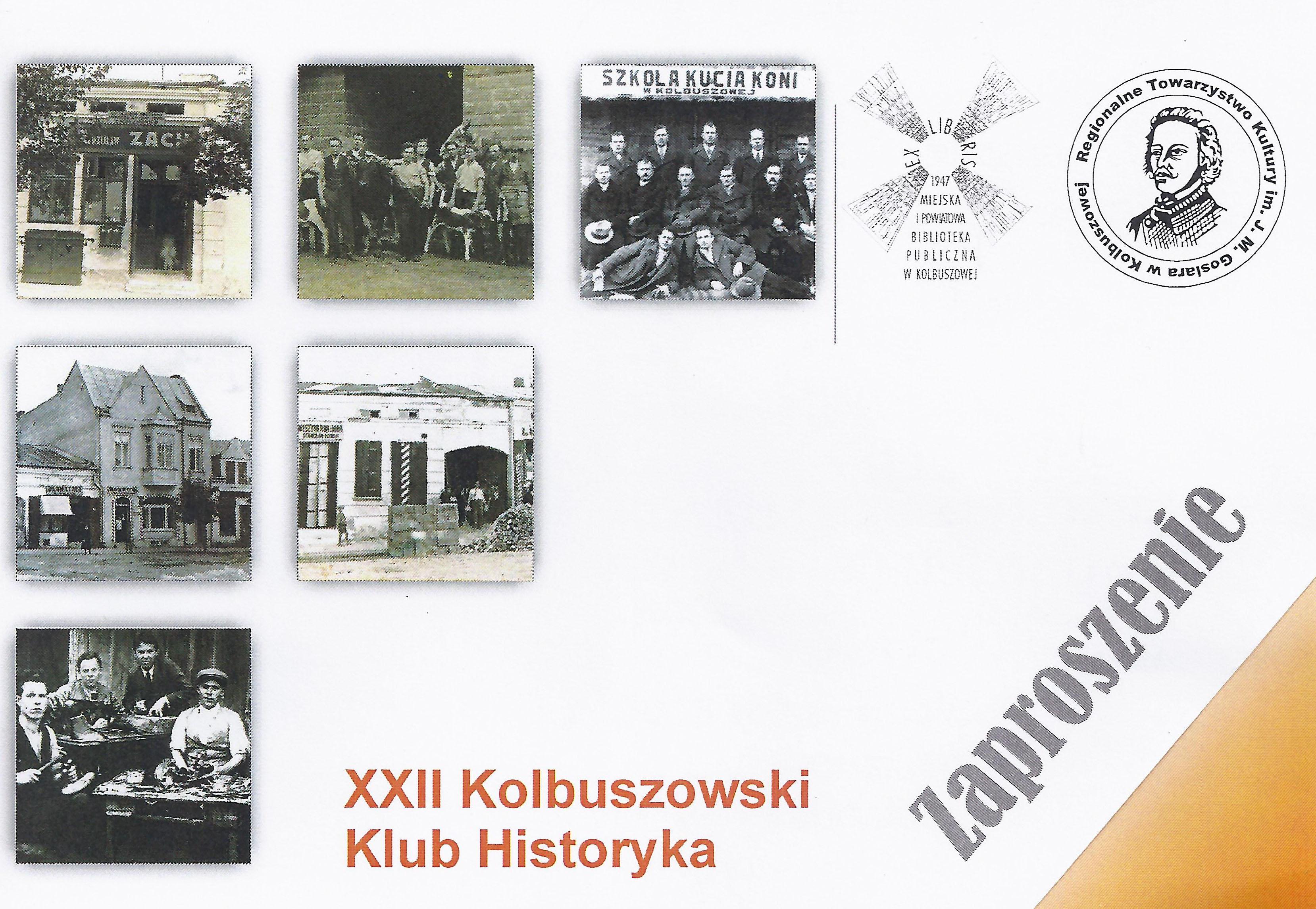 Andrzej Wesołowski z synem Karolem opowiedzą dzisiaj w bibliotece o dawnej Kolbuszowej - Zdjęcie główne