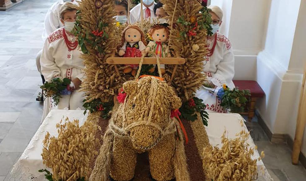 Dożynki parafialne 2020 w Niwiskach. Zobacz zdjęcia [FOTO] - Zdjęcie główne