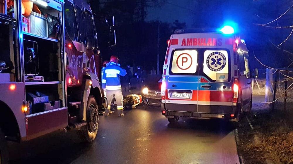 Wypadek na ul. Wolskiej w Kolbuszowej [FOTO] - Zdjęcie główne