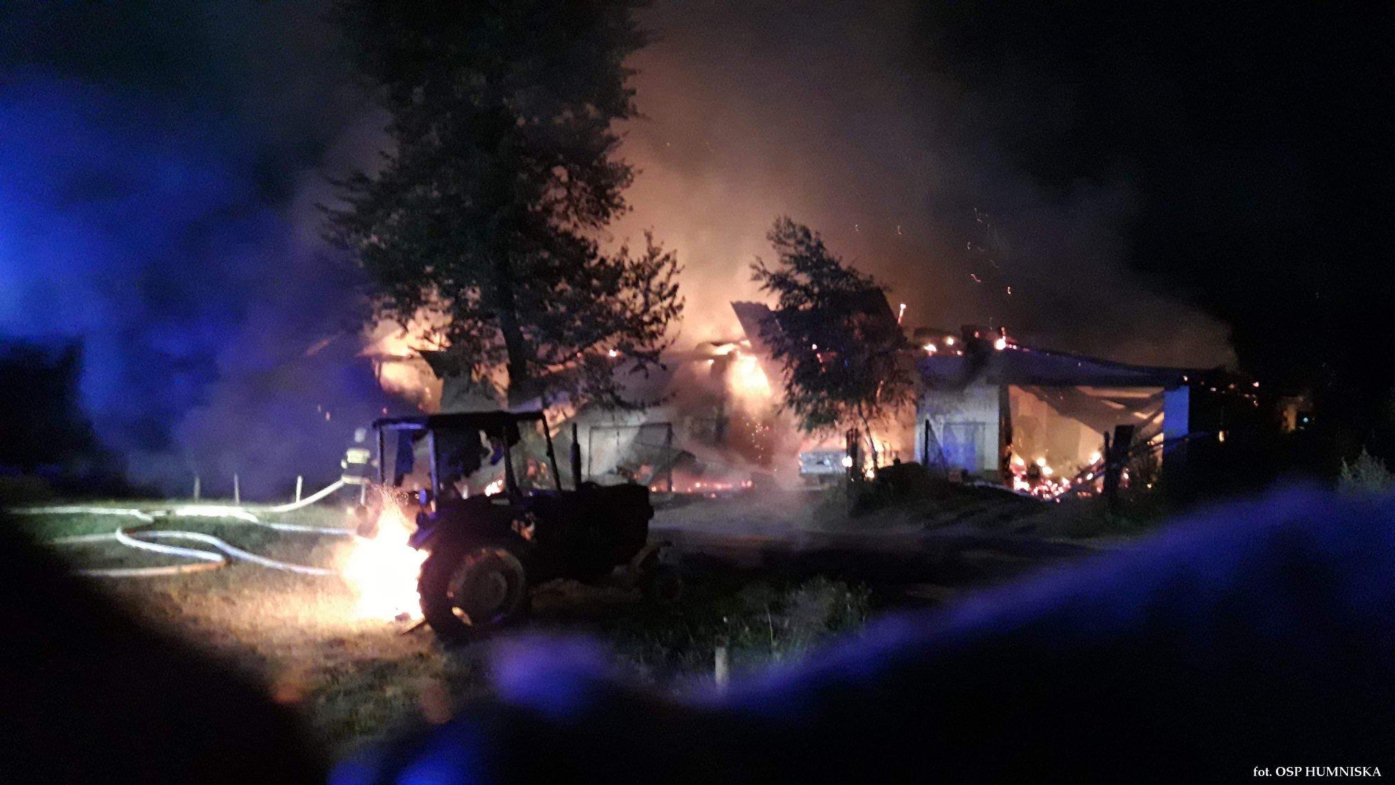 Z PODKARPACIA. Ogromny pożar w Dydni |ZDJĘCIA| - Zdjęcie główne