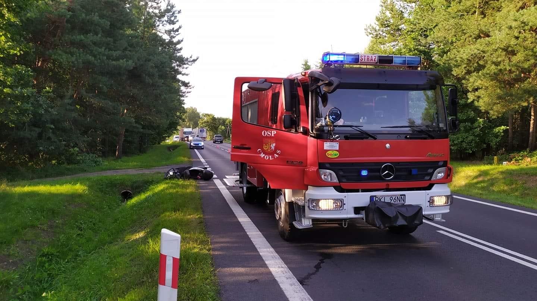 Policja o wczorajszym wypadku na krajowej dziewiątce w Cmolasie  - Zdjęcie główne