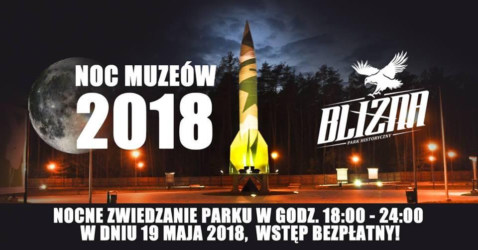 Noc Muzeów 2018 w Parku Historycznym Blizna  - Zdjęcie główne