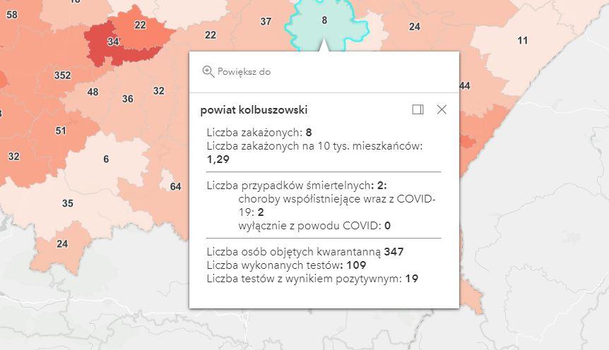Raport zakażeń koronawirusem. Ile w powiecie kolbuszowskim? [sobota - 17 kwietnia] - Zdjęcie główne