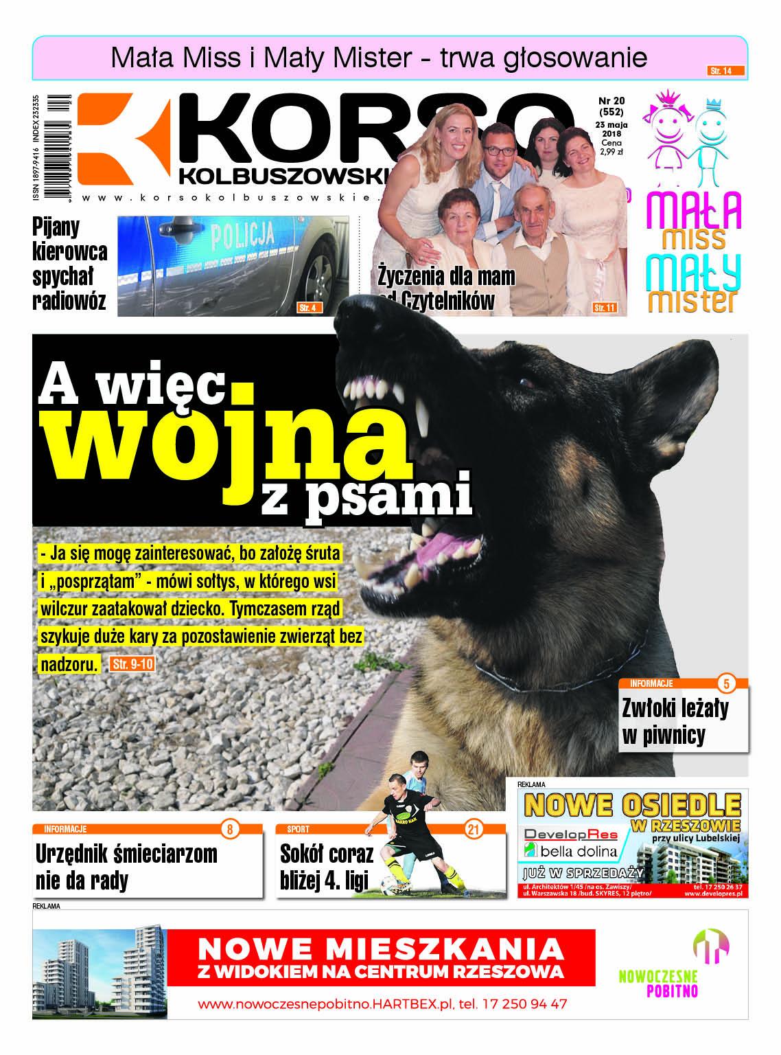 Nowy numer Korso Kolbuszowskie - nr 20/2018 - Zdjęcie główne