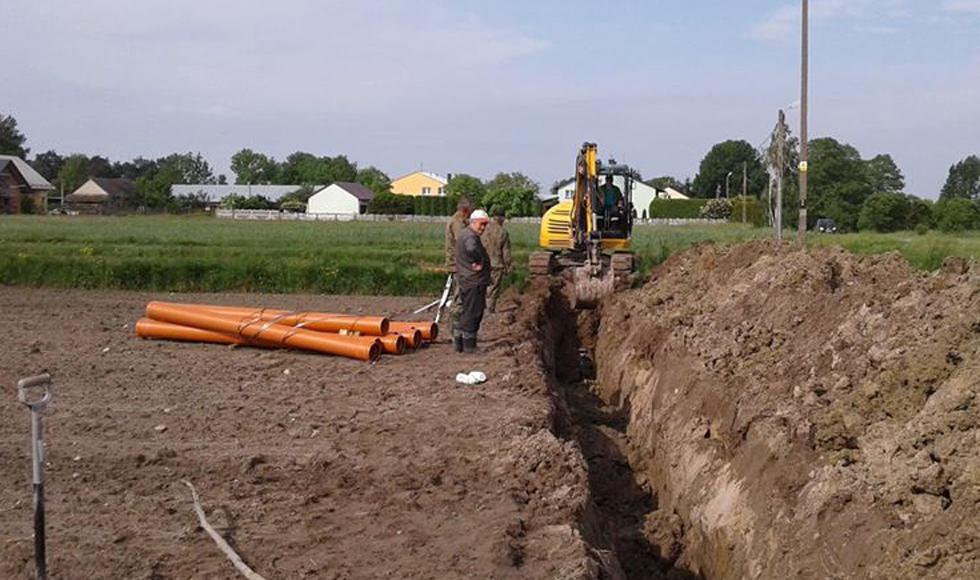 Gmina Raniżów. Ruszyła budowa kanalizacji w Mazurach - Zdjęcie główne