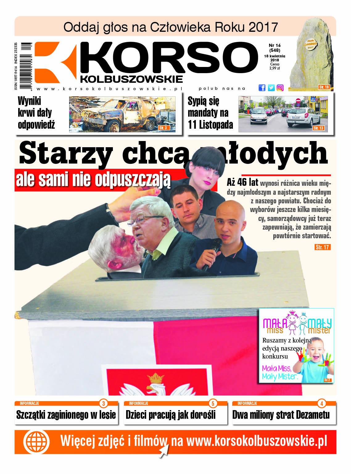 Nowy numer Korso Kolbuszowskie - nr 16/2018 - Zdjęcie główne