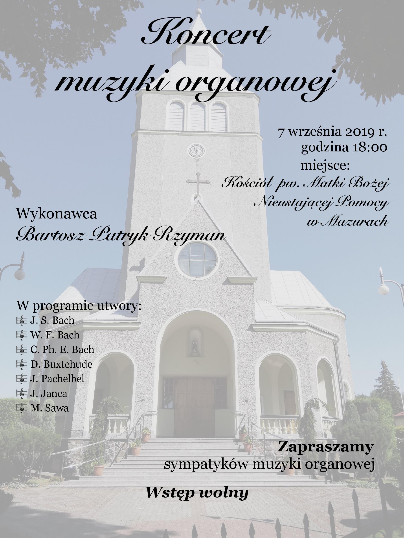 Koncert muzyki organowej w Mazurach. To już w tę sobotę!  - Zdjęcie główne