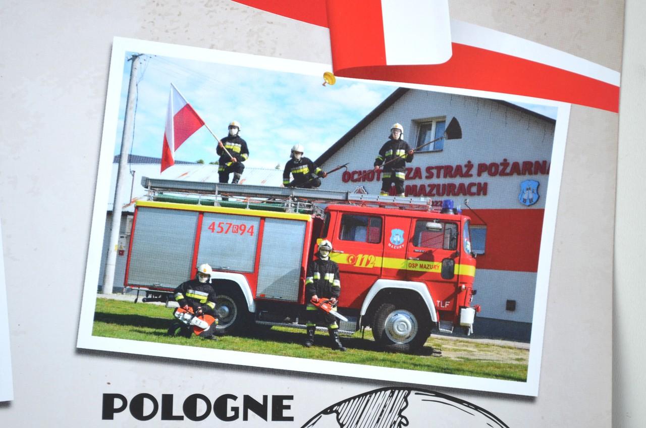 OSP z naszego powiatu we francuskim kalendarzu - Zdjęcie główne
