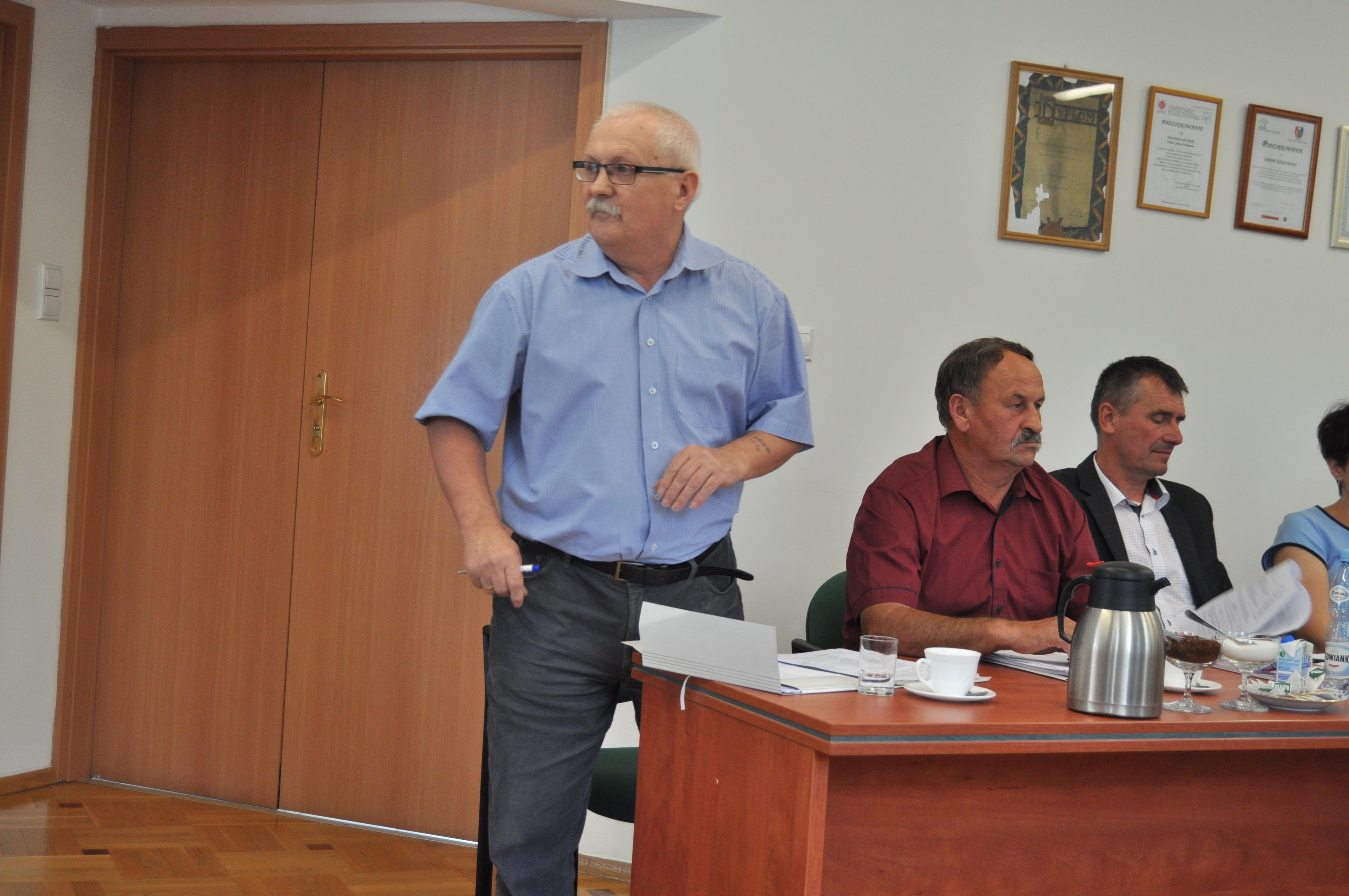 Przeciwny samorządowiec z Kopci, który stwierdził, że jego miejscowość nic nie zyska na kredycie - Zdjęcie główne