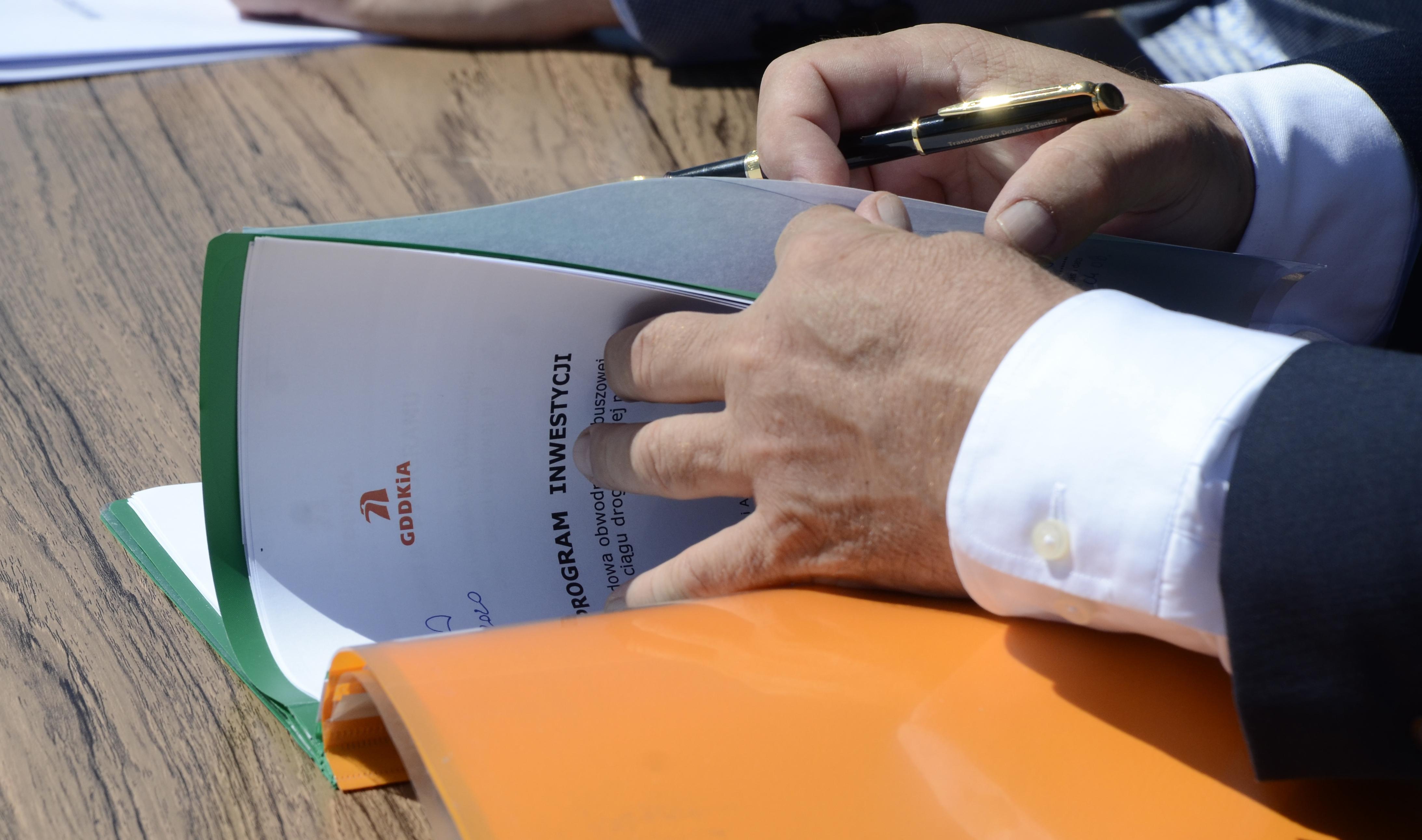Dokument podpisany. Rusza planowanie obwodnicy Kolbuszowej - Zdjęcie główne
