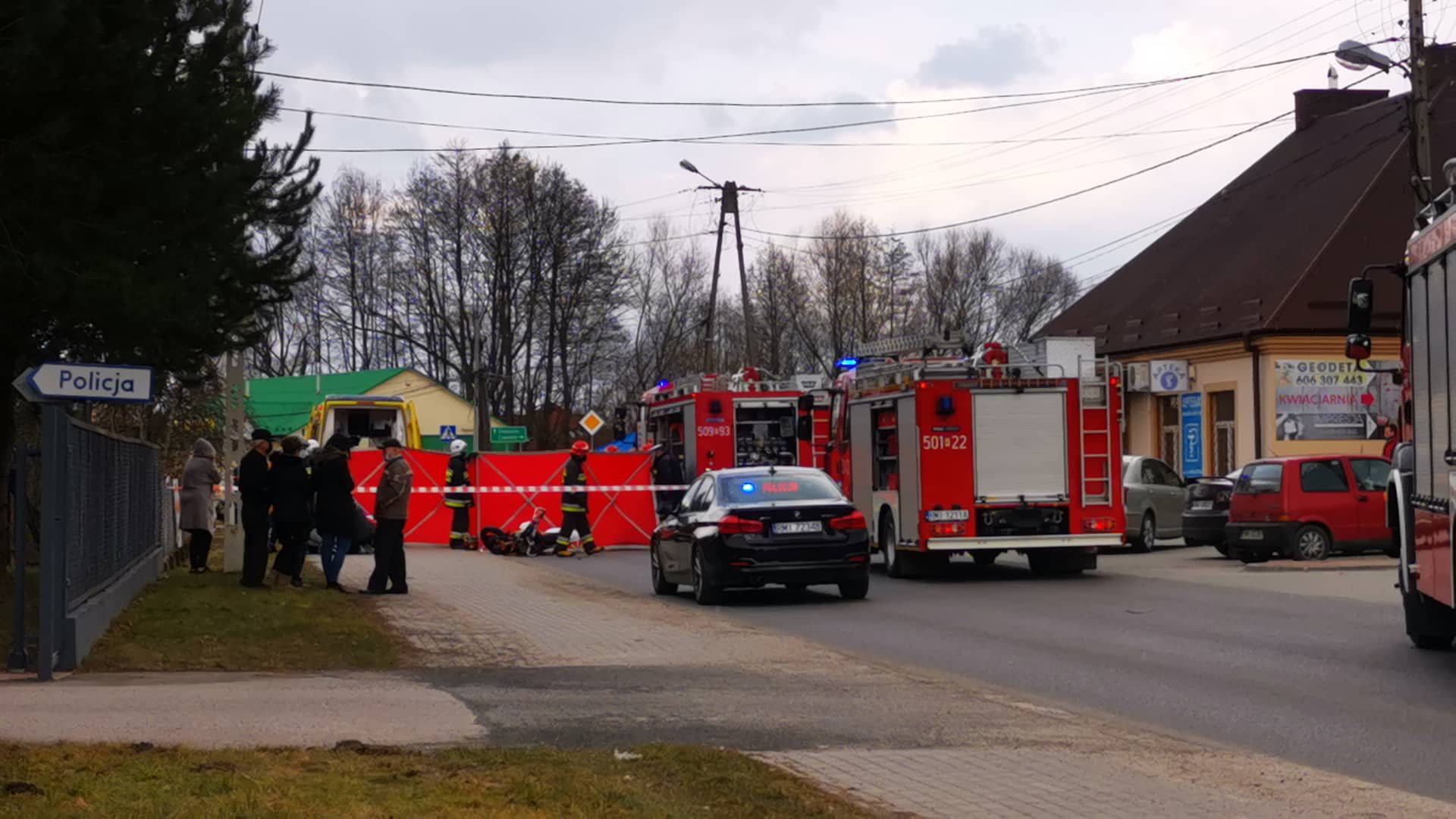 Region: Śmiertelny wypadek motocyklisty  - Zdjęcie główne