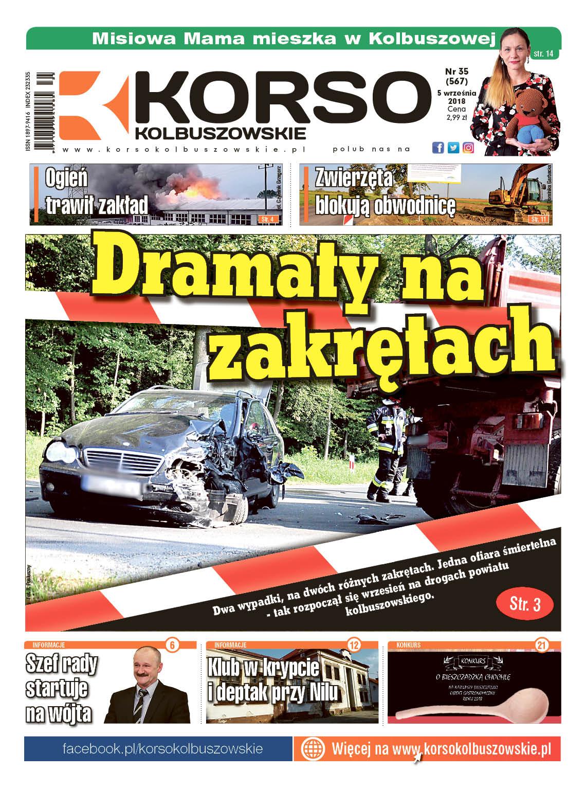 Korso Kolbuszowskie - nr 35/2018 - Zdjęcie główne