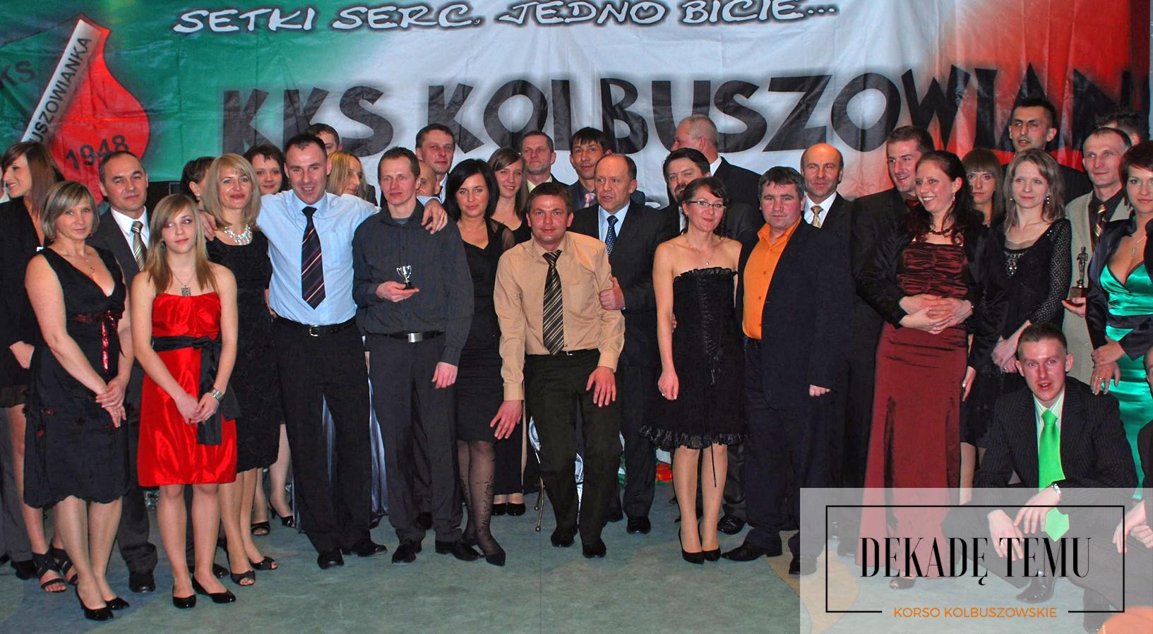 DEKADĘ TEMU. Bal Sportowca Roku 2008 w Kolbuszowej [FOTO] - Zdjęcie główne