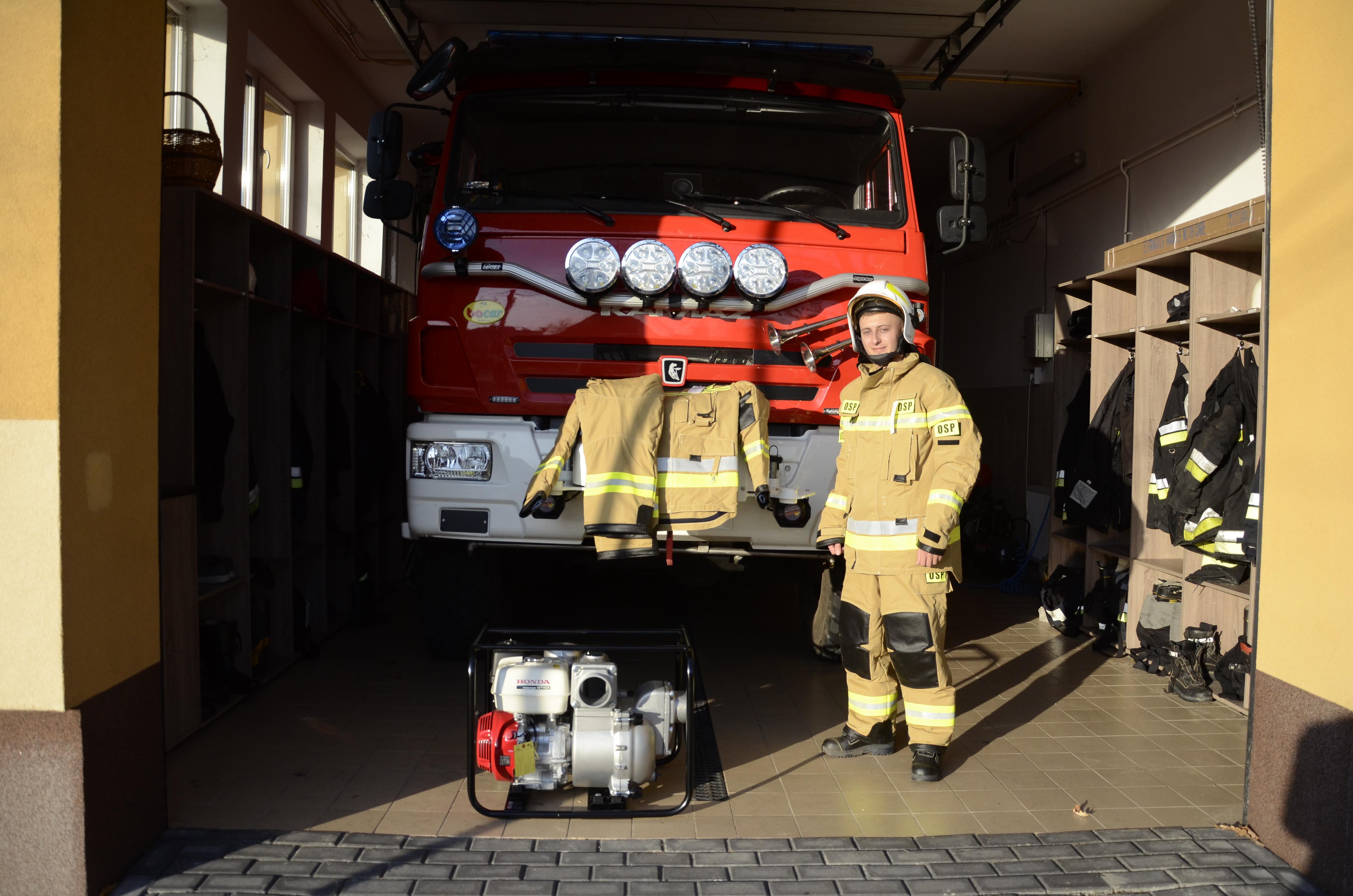 Strażacy z Lipnicy wydali pieniądze z dotacji  - Zdjęcie główne