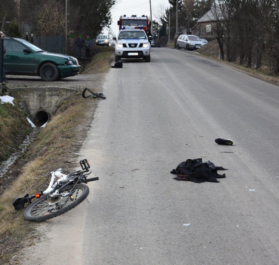 Z PODKARPACIA. Potrącił 17-letnią rowerzystkę  - Zdjęcie główne