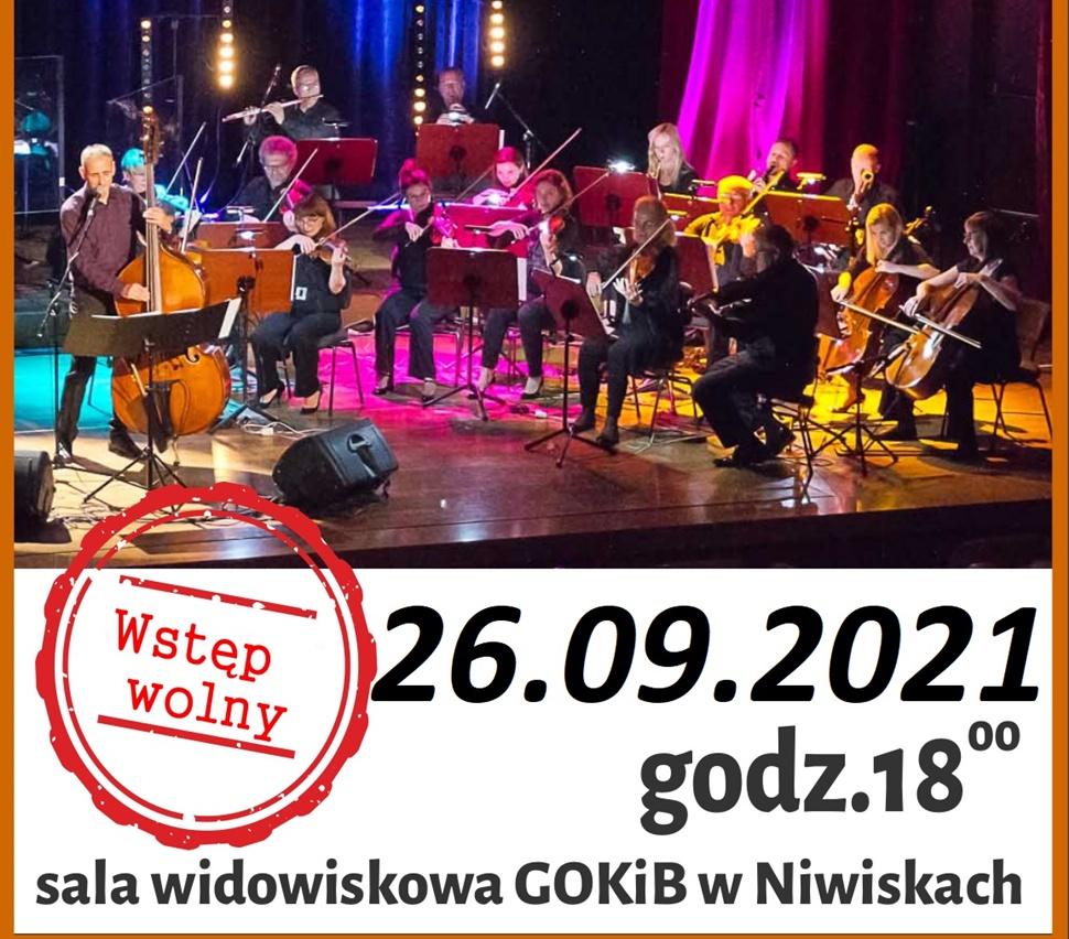 Koncert Psalmy Jana Kochanowskiego w Niwiskach [PLAKAT] - Zdjęcie główne