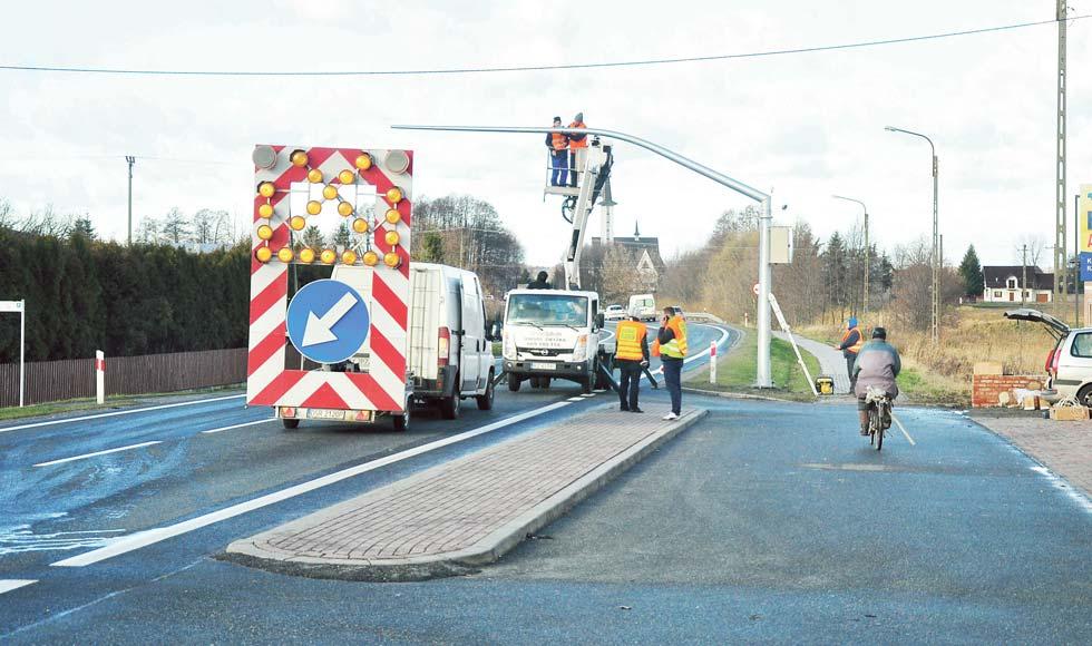 Radny Piotr Panek chce likwidacji odcinkowego pomiaru prędkości w Kolbuszowej Górnej - Zdjęcie główne