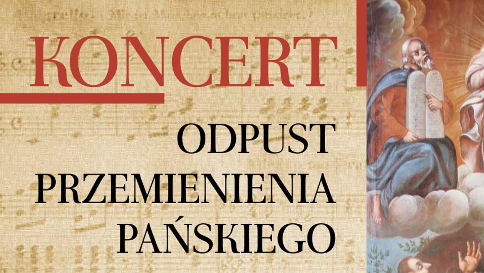 8 sierpnia: Koncert Psalmów Dawidowych - Cmolas 2021 - Zdjęcie główne