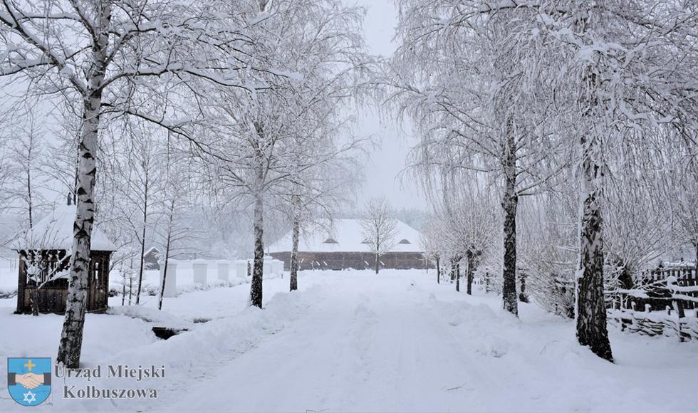 Skansen w Kolbuszowej. Wybierz się na zimowy spacer [WIDEO] - Zdjęcie główne