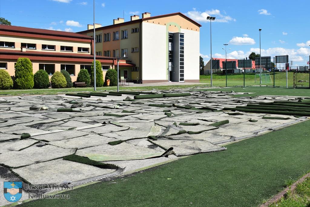 Ruszyły prace remontowe przy szkole w Kolbuszowej - Zdjęcie główne