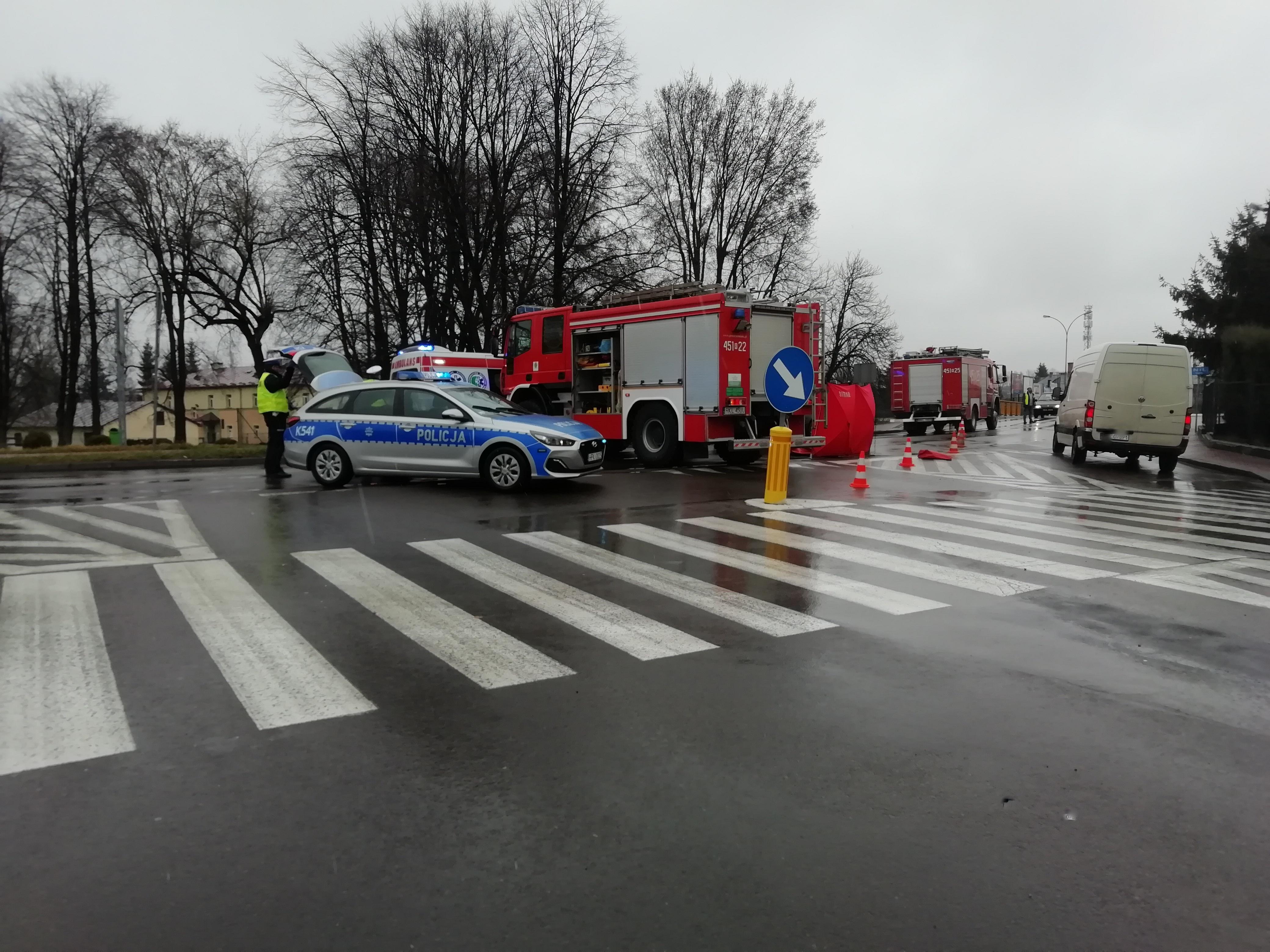 Nie żyje mężczyzna, który został potrącony 21 marca w Kolbuszowej - Zdjęcie główne
