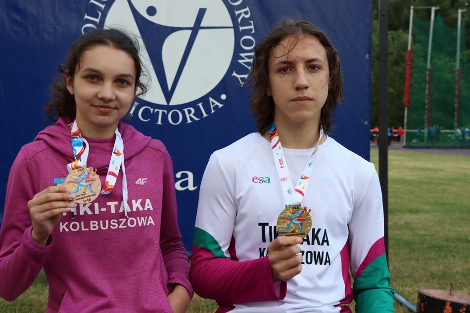 Amelia Chudzik i Bartek Sawuła z nowymi rekordami  - Zdjęcie główne