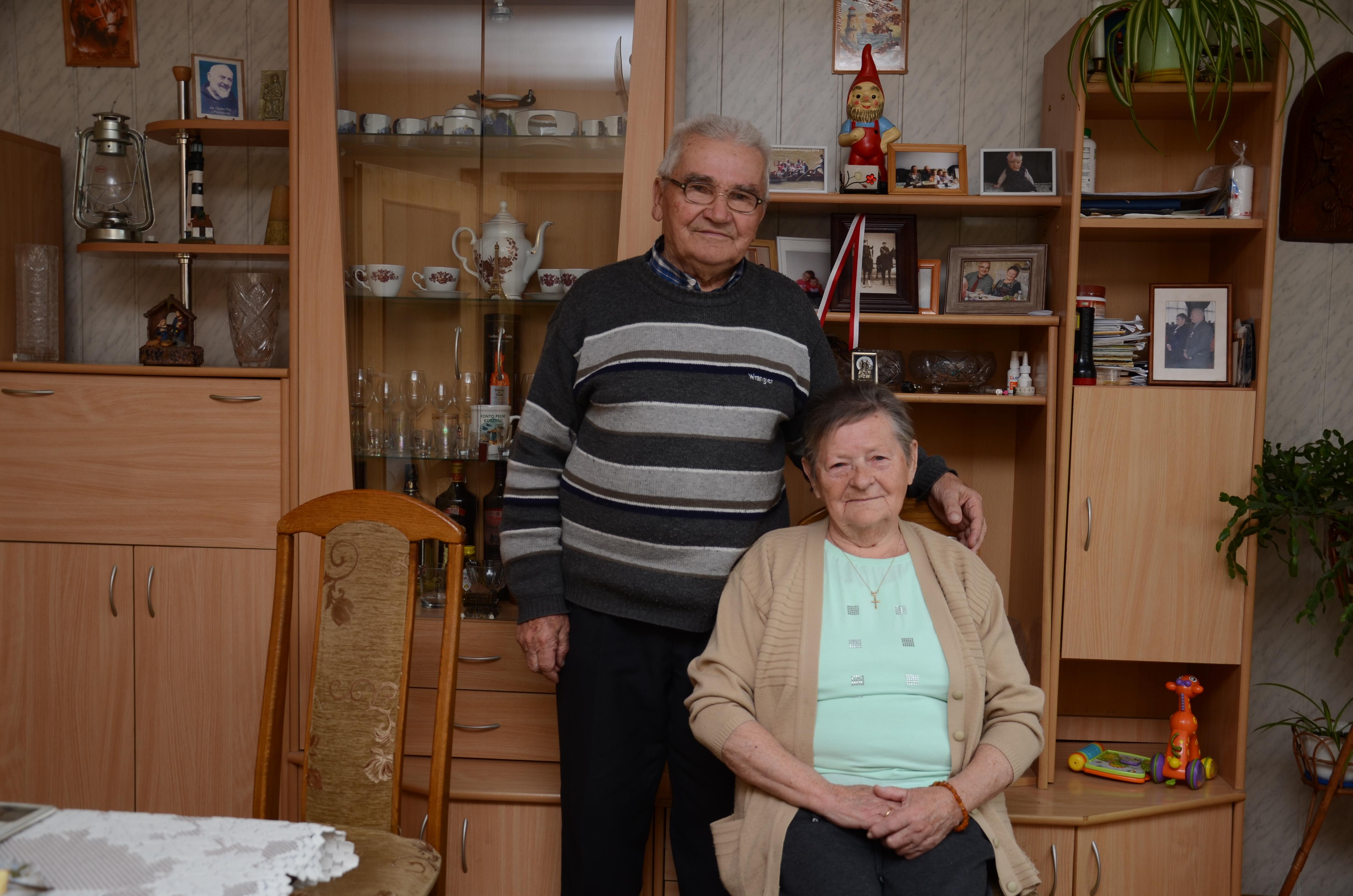 Małżeństwo z Huty Komorowskiej świętowało w Poniedziałek Wielkanocny 62. rocznicę ślubu  - Zdjęcie główne