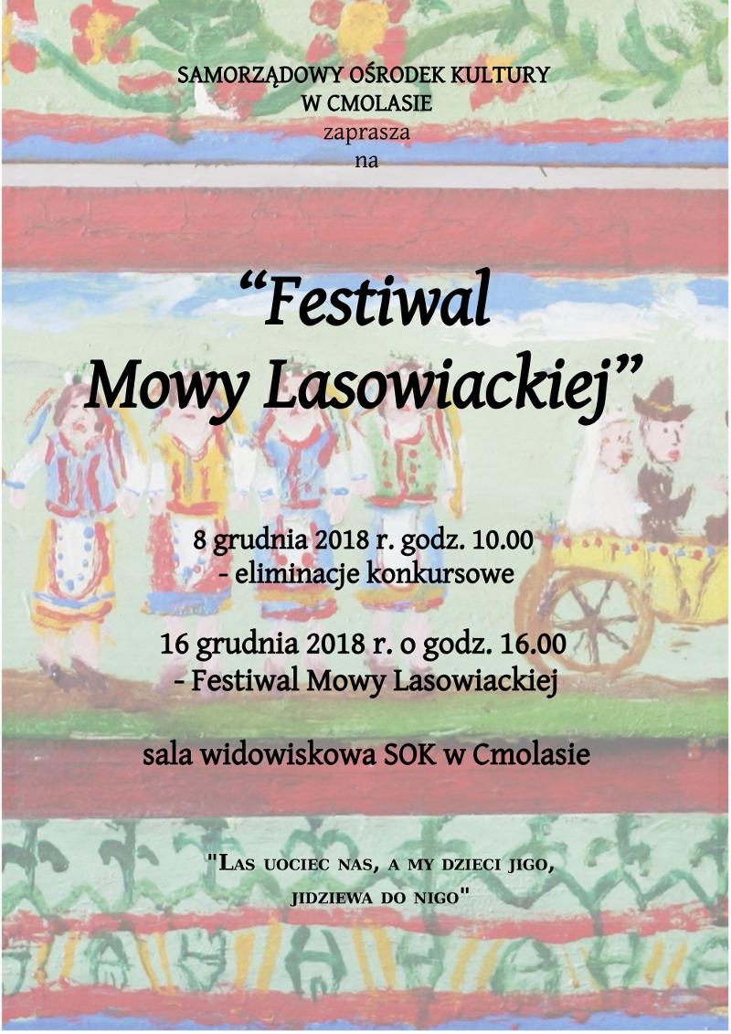 """""""Festiwal Mowy Lasowiackiej"""" już wkrótce w Cmolasie - Zdjęcie główne"""