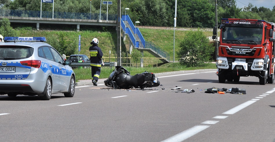 Wypadek na DK9 w Widełce. Droga była zablokowana [ZDJĘCIA - AKTUALIZACJA] - Zdjęcie główne