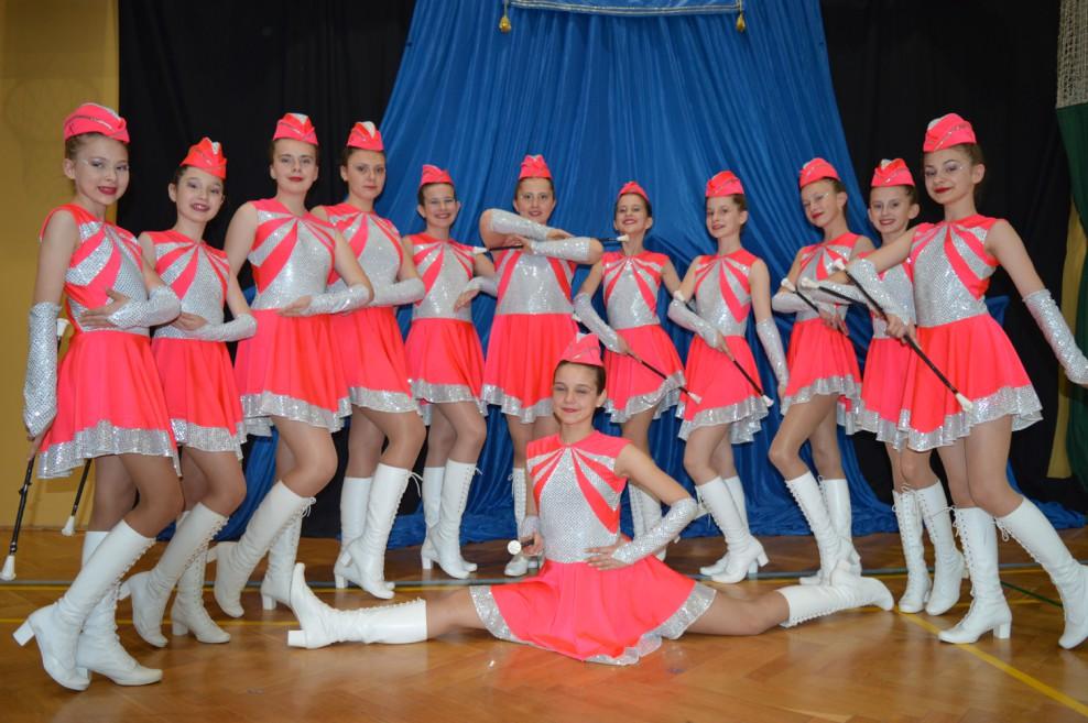 Sukcesy zespołów mażoretkowych z Majdanu Królewskiego  - Zdjęcie główne