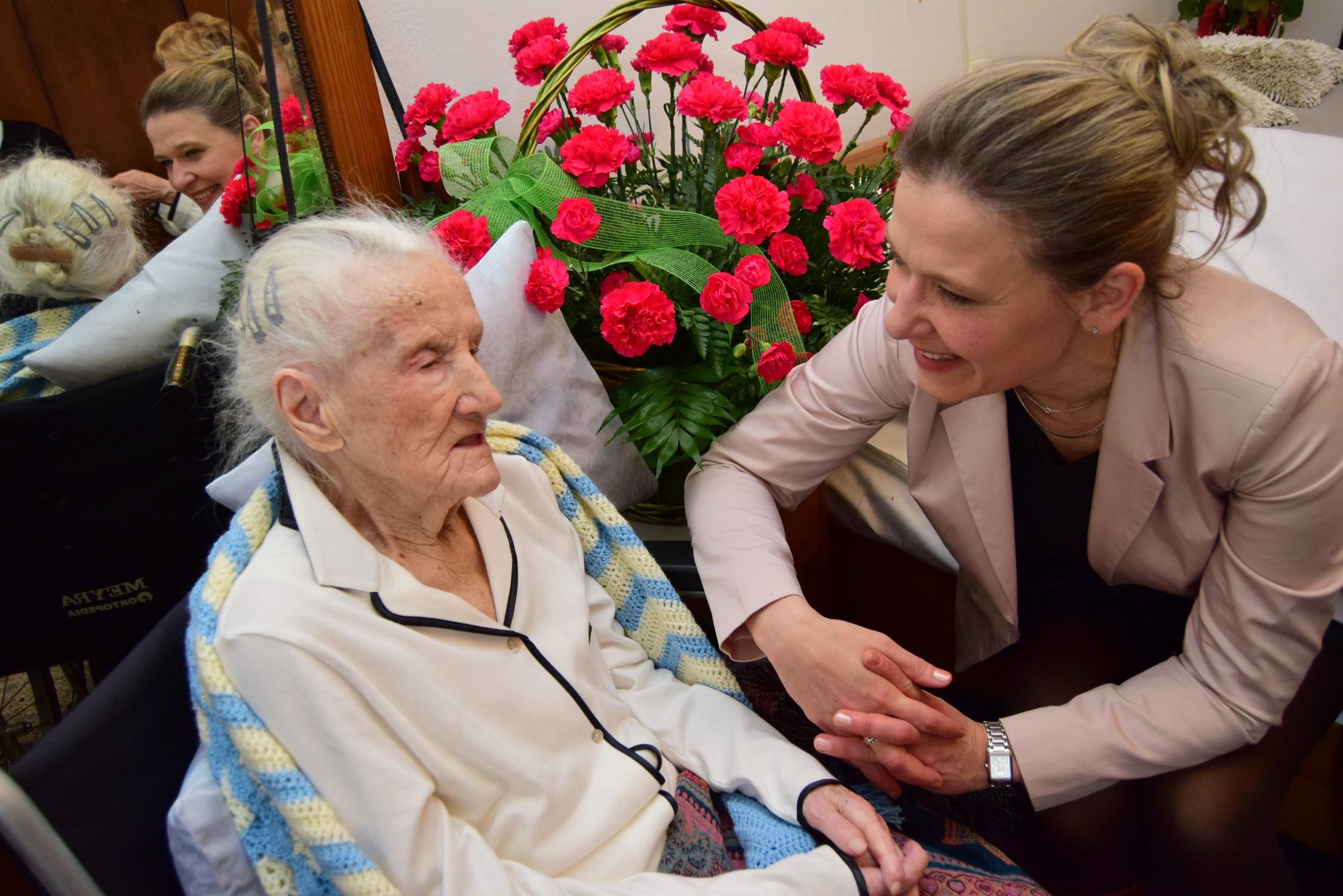 Mieszkanka Majdanu Królewskiego świętowała swoje setne urodziny - Zdjęcie główne