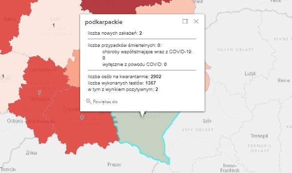 Nowe zakażenia Covid-19 na Podkarpaciu [poniedziałek - 26 lipca] - Zdjęcie główne
