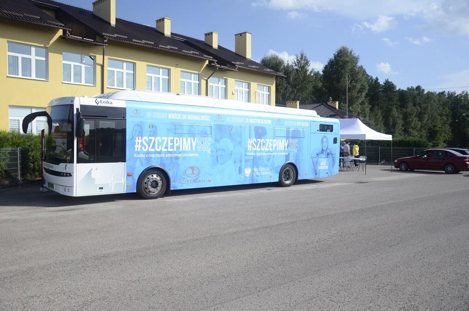 Wiemy ilu dokładnie mieszkańców powiatu kolbuszowskiego zaszczepiło się w szczepionkobusie - Zdjęcie główne