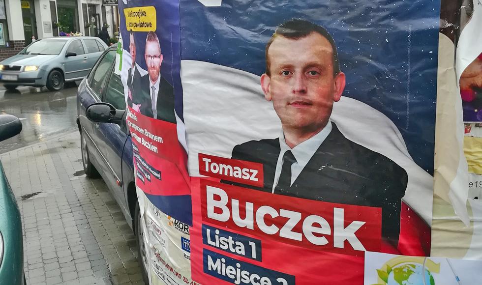 WYBORY PE: Tomasz Buczek - tak głosowano na jedynego kandydata z powiatu kolbuszowskiego. Komentarz powyborczy  - Zdjęcie główne