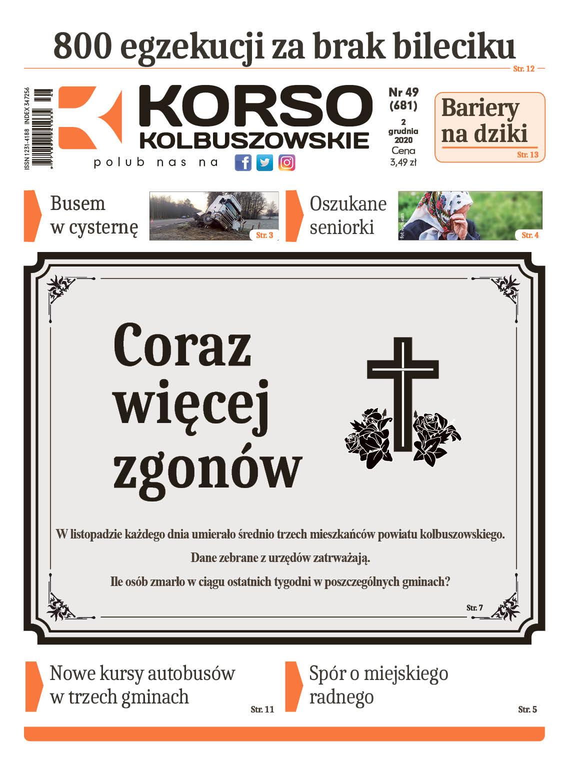 Nowy numer Korso Kolbuszowskie 49/2020 - Zdjęcie główne