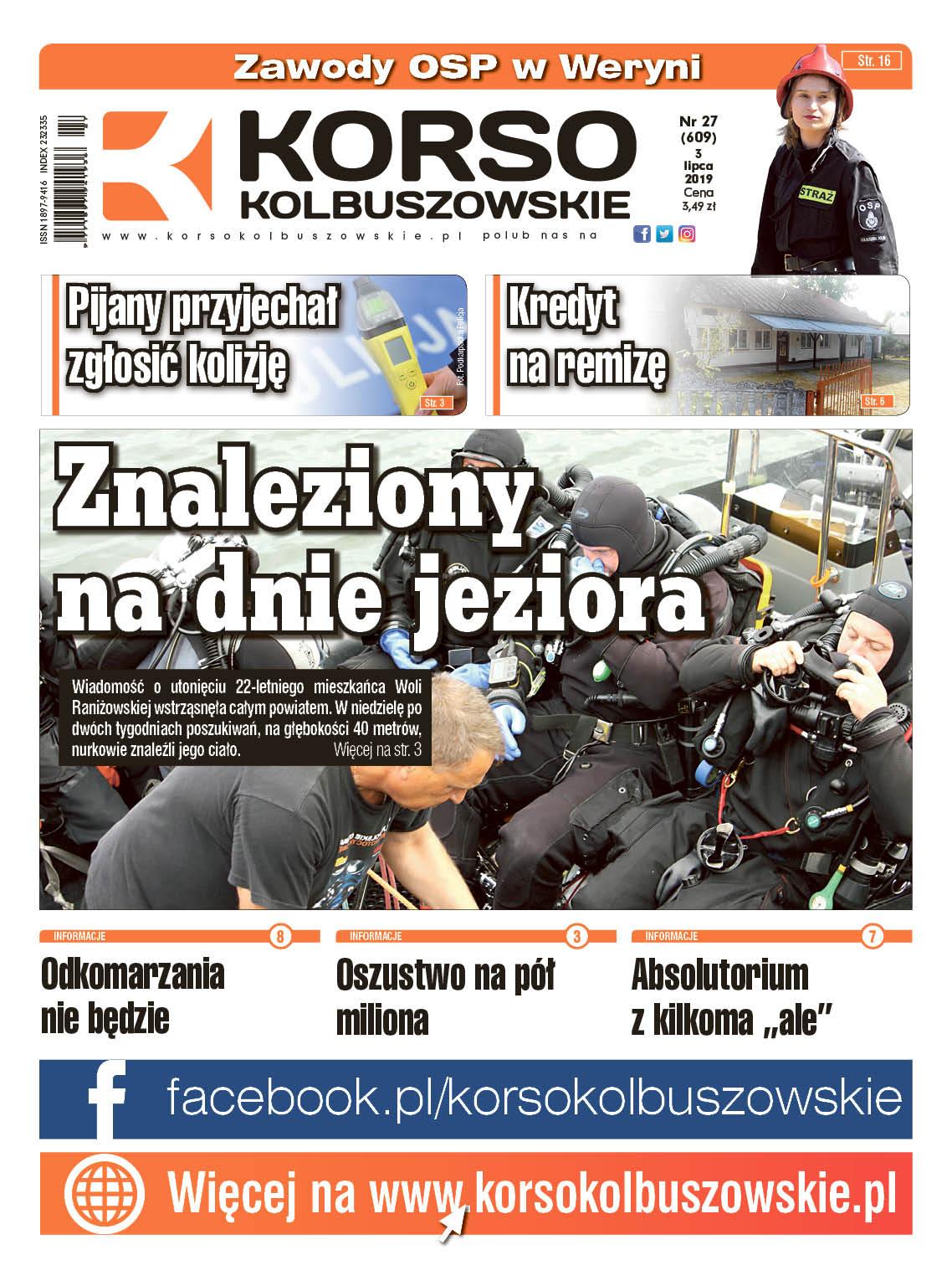 Korso Kolbuszowskie - nr 27/2019 - Zdjęcie główne