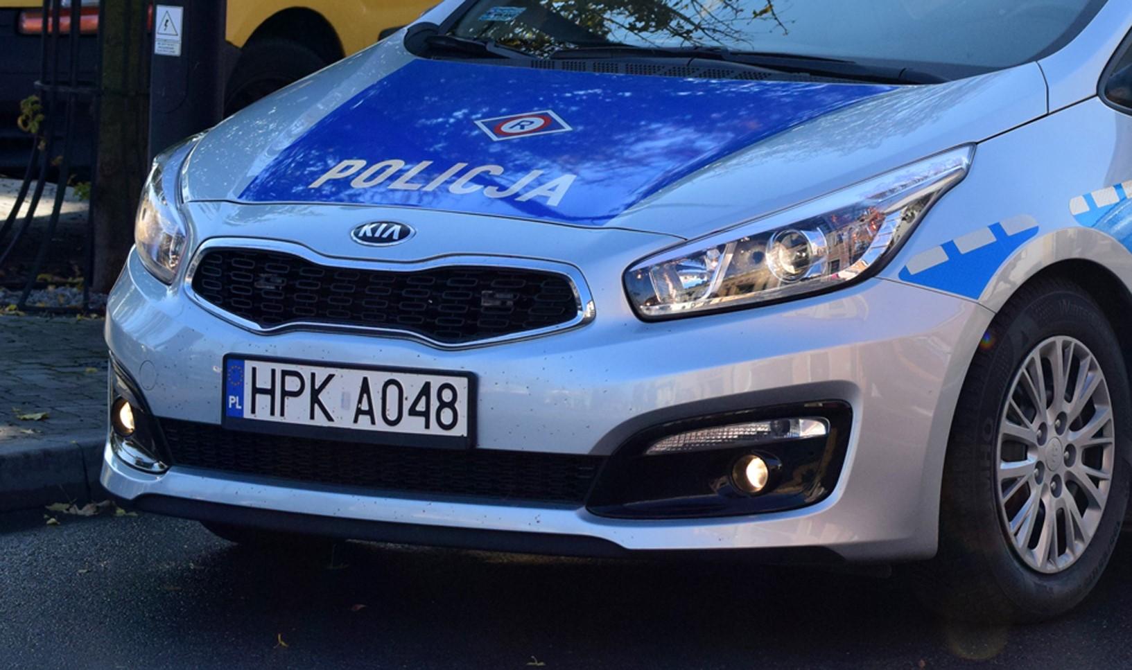Podkarpacie: Wjechał w policyjny radiowóz. Mundurowi ranni - Zdjęcie główne