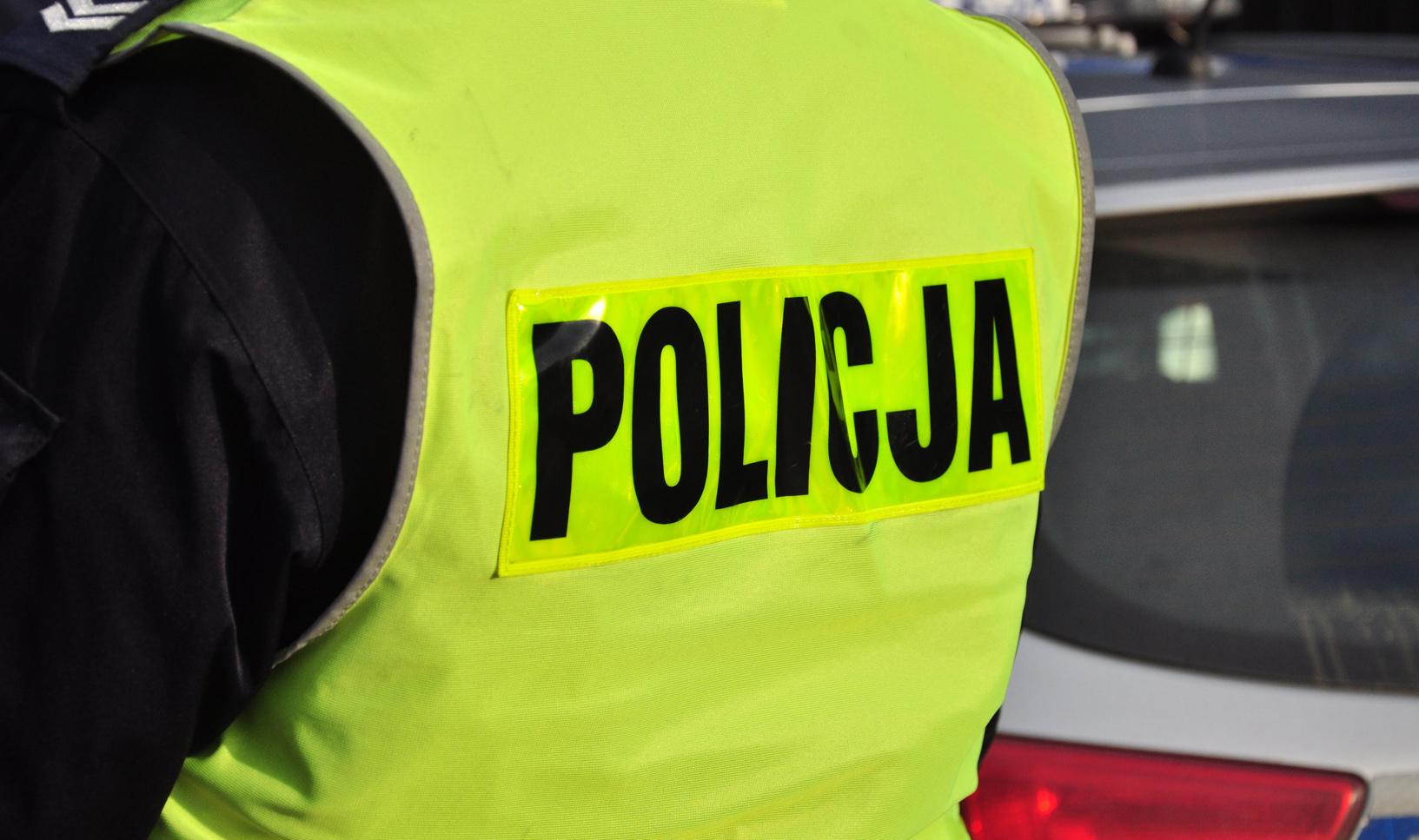 GMINA KOLBUSZOWA. Na widok policjantów uciekł w zarośla [FOTO] - Zdjęcie główne
