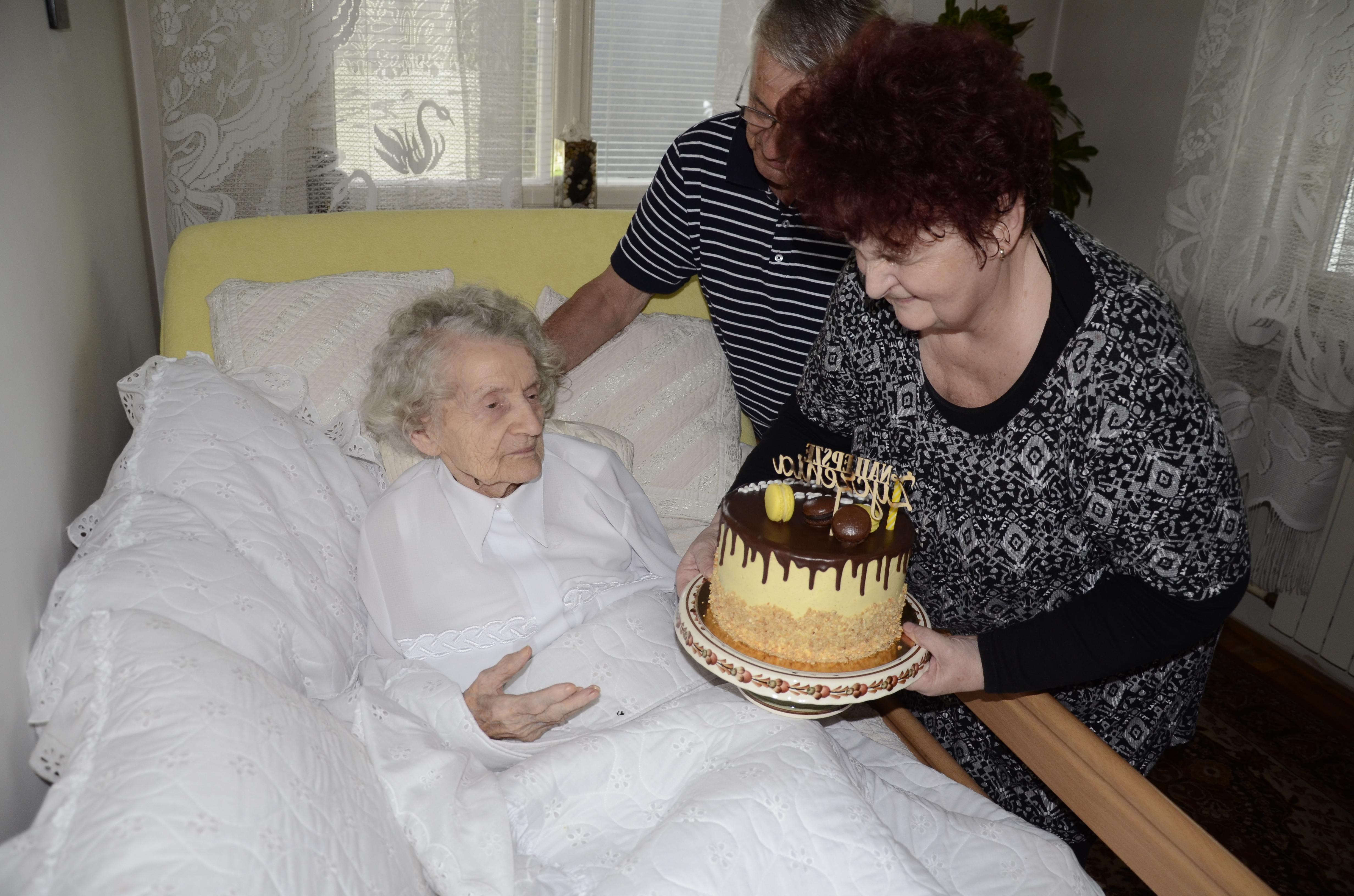Setne urodziny pani Stanisławy z Kolbuszowej  [ZDJĘCIA] - Zdjęcie główne