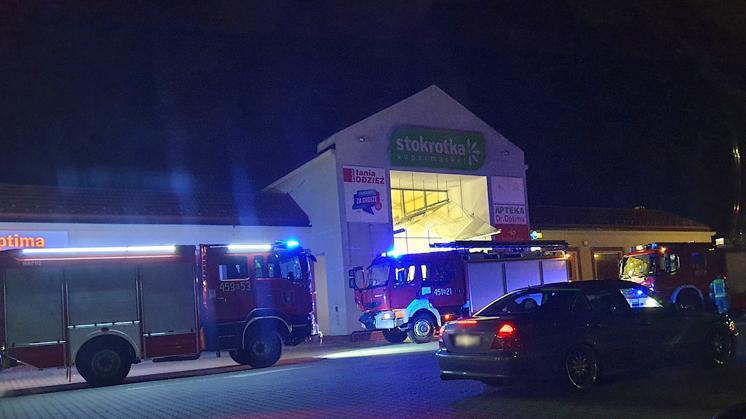Strażacy wezwani do sklepu w Kolbuszowej. Powód?   - Zdjęcie główne