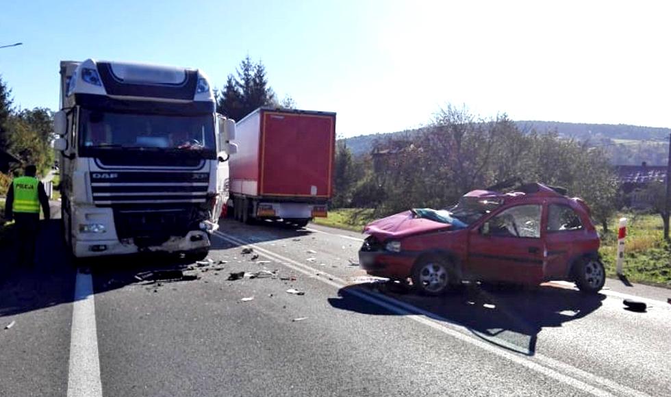 Z PODKARPACIA: Tragiczny wypadek w Babicy. Droga nr 19 jest zablokowana   ZDJĘCIA   - Zdjęcie główne