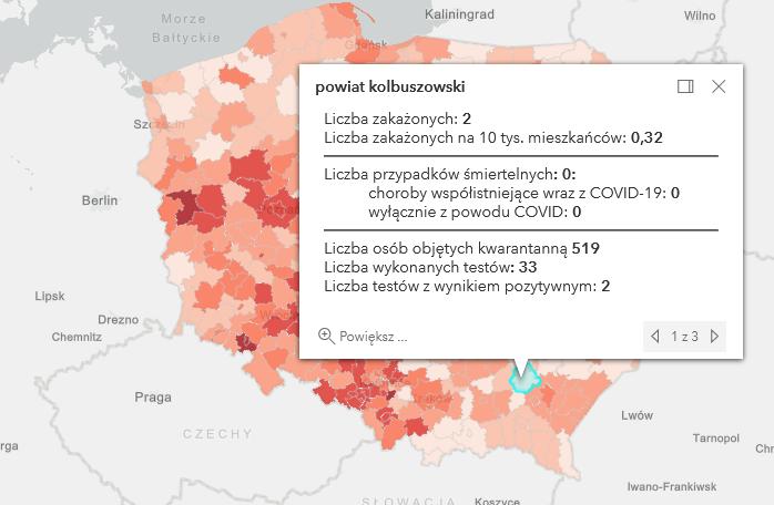 Wykonano 33 testy na Covid-19 w powiecie kolbuszowskim. Znikoma liczba zakażeń  - Zdjęcie główne