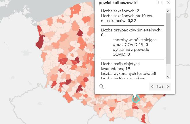 Nowe zakażenia Covid-19 w powiecie kolbuszowskim. Ile?  - Zdjęcie główne