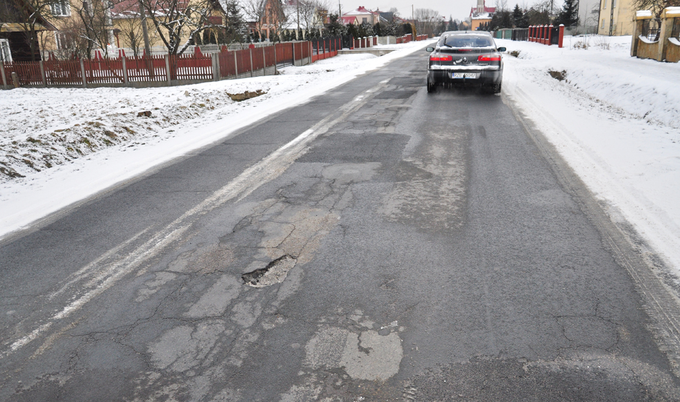 Mieszkańcy Woli Raniżowskiej walczą o remont drogi  - Zdjęcie główne
