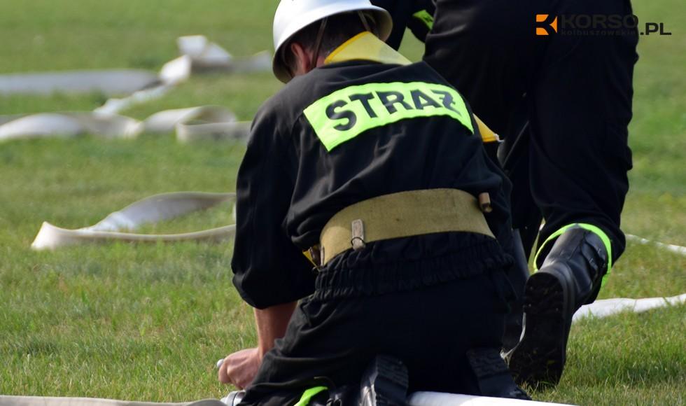 Zawody sportowo-pożarnicze w Hucie Komorowskiej. Zobacz, kto znalazł się na podium turnieju  - Zdjęcie główne