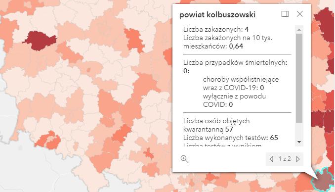 Zakażenia Covid-19 niedużo ponad tysiąc [niedziela - 3 października] - Zdjęcie główne