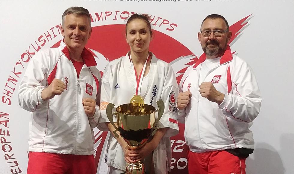 KARATE. Monika Zielińska z Kolbuszowej została mistrzynią Europy - Zdjęcie główne
