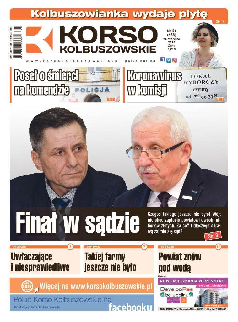 Korso Kolbuszowskie - nr 26/2020 - Zdjęcie główne